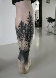 tattoos com 30 inspirational forest ideas page 25