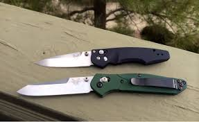 the osborne twins benchmade 470 emissary and 940 osborne knifeclub