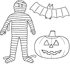 halloween bat coloring pages pumpkin mummy coloringstar