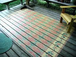 Best Outdoor Rug For Deck Marvelous Best Outdoor Rug For Deck View In Gallery Rug Stenciled
