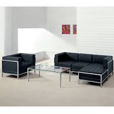 Modern Black Leather Sofas Amazon Com Flash Furniture Hercules Imagination Series