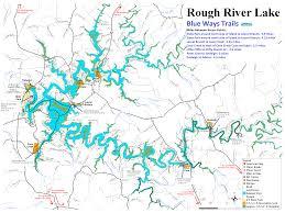 Kayak Map New Kayak Trail Map For Rough River Lake Www Roughriver Com