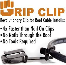 Wrap On Roof And Gutter Cable by Gripclip Roof Cable Clip For Securing Ice Dam Heat Tape Heat