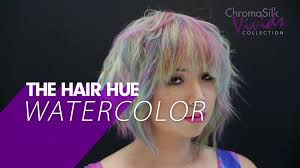 the latest hair colour techniques hair color how to watercolor bright hair color youtube