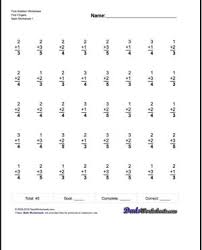 math worksheets worksheet online for grade fraction and wholes