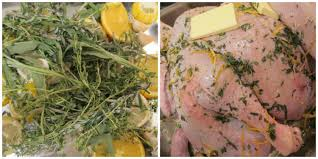 herb turkey recipes thanksgiving a franglais thanksgiving spatchcocked turkey with citrus and