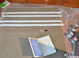 Painting An Outdoor Rug How To Paint This Diy Outdoor Rug In Three Easy Steps Diy Playbook