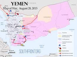 Arabian Peninsula Map Map Of War August 28 2015