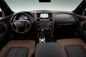 nissan patrol platinum interior 2018 nissan armada platinum reserve debuts in texas motor trend