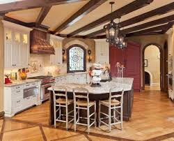 granite breakfast bar designs kitchen traditional with wall tile