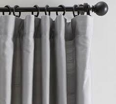 Blackout Curtains White Blackout Curtains Pottery Barn
