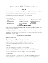 Restaurant Management Resume Samples by Astonishing Foh Manager Resume 55 With Additional Resume Sample