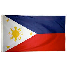 National Flags With Orange National Capital Flag Company Inc Virginia Nyl Glo Philippines