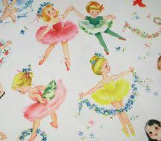 ballerina wrapping paper ballerina vintage wrapping paper would be so pretty framed