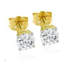 diamond earrings india buy unique solitaire diamond stud earring online best prices in