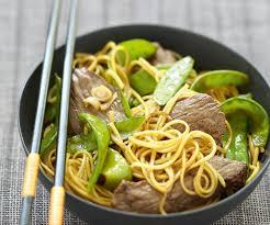 cuisiner des pois mange tout recette facile sauté de bœuf aux pois gourmands