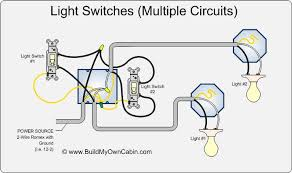 wiring switches to lights diagram cabin how