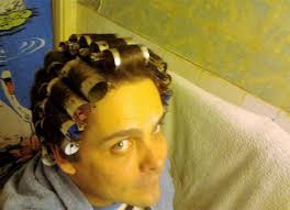 men with red fingernails and curlers in hair 4529 best rollers images on pinterest rollers rollers in hair