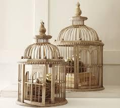 decorative bird cages in the interior romantic decor ideas
