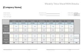 Excel Template For Timesheet Excel Card Template Thebridgesummit Co