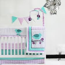 Pink And Teal Crib Bedding by Amazon Com Pam Grace Creations 10 Piece Lovebirds Nursery To Go