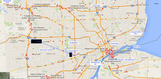 Warren Michigan Map by Great Runs In Detroit U2013 Great Runs U2013 Medium