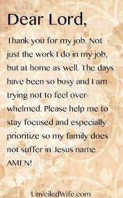 prayer of the day busy work days prayer of the day prayer and