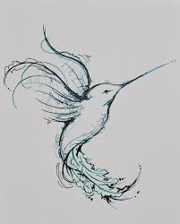 hummingbird drawings tattoos