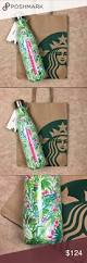 Lilly Pulitzer For Starbucks Lilly Pulitzer Starbucks Green Jungle Swell Bottle Nwt Swell