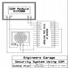 arduino based security system using gsm u0026 pir sensor engineersgarage
