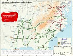 Map Of Tennesse Tennessee Civil War Railroads History Battles And Battle Map