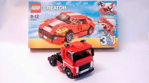 lego ferrari truck yoshiny u0027s design lego truck 31024 alternate build