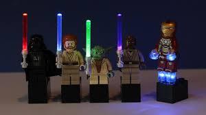 lightsaber toy light up custom star wars light up lightsabers iron man light up kit