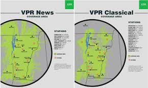 Vt Map Radio Stations U0026 Coverage Maps Vermont Public Radio