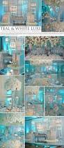 teal ice wedding by design house weddingdecor winterwedding