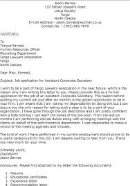 cover letter secretary position brilliant ideas of how to write a