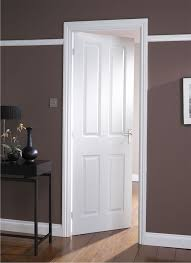 Six Panel Oak Interior Doors Interior French Doors White Photo 6 Modern White Masonite
