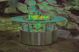 architect modern gas fire pit for your outdoor and backyard decor