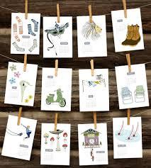 design wall calendar 2015 illustrated 2015 wall calendar features happy holidays sloe gin