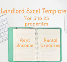 Landlord Spreadsheet Products Saving Templates