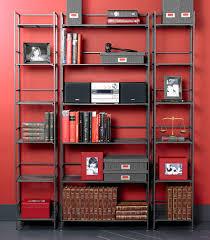 6 Shelf Bookshelf Wrought Iron Bookcase Roselawnlutheran