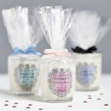baby shower personalised candle favours by hearth u0026 heritage ltd