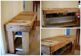 Shoe Shelf Bench by Beautiful Pallet Shoe Rack For Your House