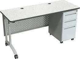 desk gray standing office desk portable desk drawers portable