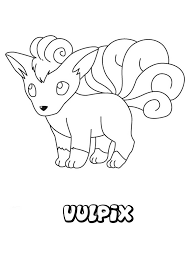 vulpix coloring pages 037 vulpix pokemon coloring page