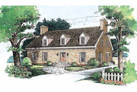 cape cod cottage plans small mid century cape cod cottage nationwide house plan service