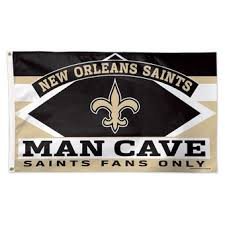 new orleans saints home and office banners and flags saints pro shop