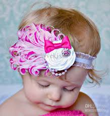 flower hair bands fashion baby hair accessories baby headbands hair flowers