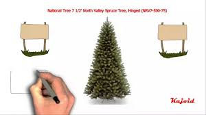 national tree 7 1 2 valley spruce tree hinged nrv7 500 75
