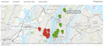 Map Of Jersey City Citi Bike Visual Analysis Of Jersey City In September 2017 Nyc